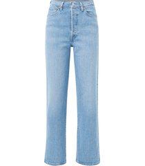 jeans ribcage straight ankle tango