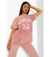 oversized tie dye arizona t-shirt, lilac