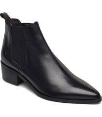 booties 93700 shoes boots ankle boots ankle boot - heel svart billi bi