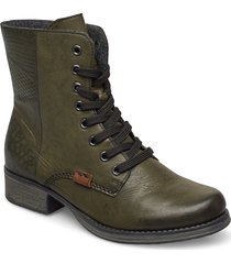 y9718-52 shoes boots ankle boots ankle boots with heel grön rieker
