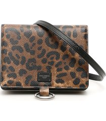 dolce & gabbana pouch wallet with shoulder strap