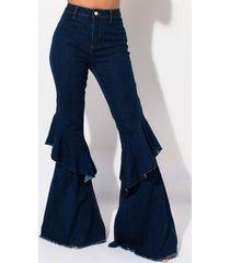 akira barcelona double flare jeans