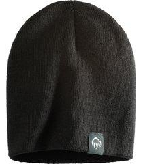 wolverine knit beanie black, size one size