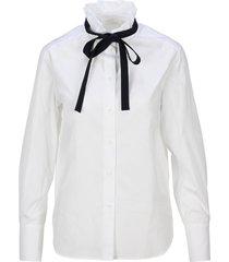 chloe high-neck shirt