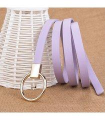 cinturón para mujer/estilo accesorio/ sra.-púrpura