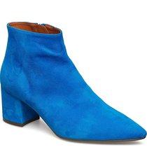 boots 8099 shoes boots ankle boots ankle boots with heel blå billi bi