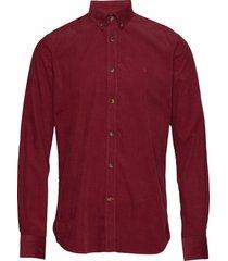 garth button down shirt overhemd casual rood morris