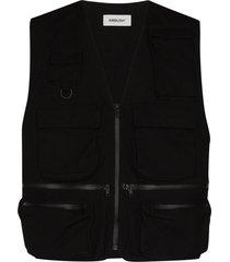 ambush multi pocket vest - black