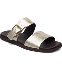 ofra slide shoes summer shoes flat sandals silver clarks