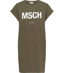 alvidera msch est dress dresses everyday dresses grön moss copenhagen