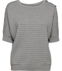 sweaters t-shirts & tops knitted t-shirts/tops grå esprit casual