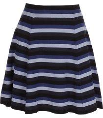 j.w. anderson flared mini skirt