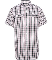silver ridge™ 2.0 multi plaid s/s shirt kortärmad skjorta vit columbia
