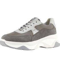 sneakers wenz grå::vit::silverfärgad