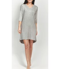 mood pajamas ultra soft ribbed knit sleepshirt nightgown, online only