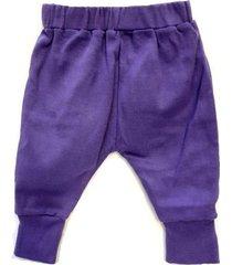 pantalón violeta á croquer