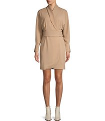 corben wrap dress