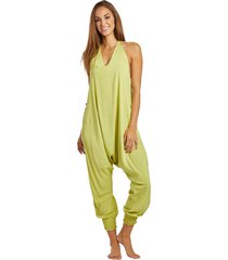buddha pants women's harem jumpsuit - fuschia xx-small cotton