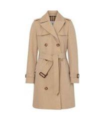 burberry trench coat the short islington - neutro