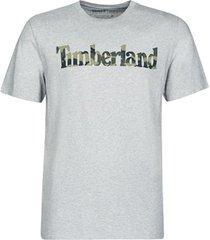 t-shirt korte mouw timberland ss kennebec river camo linear tee