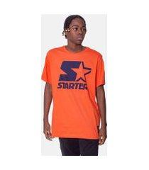 camiseta starter estampada laranja