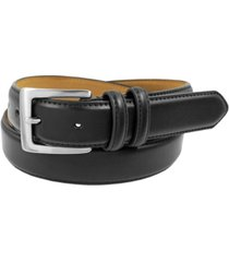 status men's top grain leather dress belt