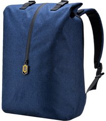 mochila con cremallera impermeable con magnetismo xiaomi - azul