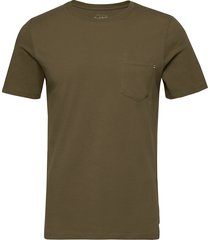 jjepocket tee ss o-neck noos t-shirts short-sleeved grön jack & j s
