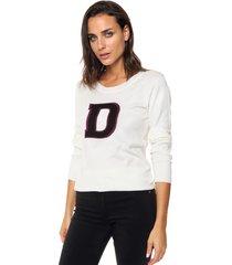 sweater blanco nano janice
