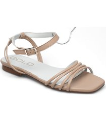 25351 shoes summer shoes flat sandals rosa gold