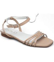 25351 shoes summer shoes flat sandals rosa gold