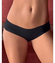 leonisa seamless cheeky hiphugger panty with lace top back 012937
