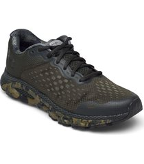 ua hovr infinite 3 camo shoes sport shoes running shoes grön under armour