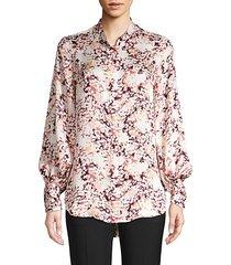 boleyn floral blouse