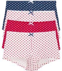 culotte alta (pacco da 4) (bianco) - bpc bonprix collection