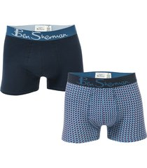 mens laz 2 pack boxer shorts