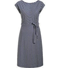 grace dress breton stipe blue