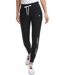 tommy jeans logo joggers