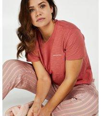 hunkemöller kortärmad pyjamastopp röd