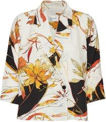 abelinegz blazer hs19 blouse lange mouwen multi/patroon gestuz