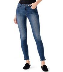 women's dl1961 camila ankle skinny jeans, size 23 - blue