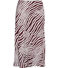 tassiala knälång kjol röd by malene birger