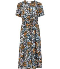 klänning slfmoxy damina ss aop midi dress