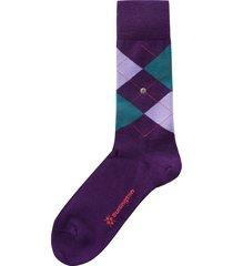burlington socks edinburgh socks |purple| 21182-6991