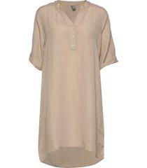 cuparvin long shirt tuniek beige culture