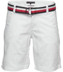 essential belted chi shorts vit tommy hilfiger