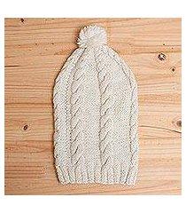 100% alpaca hat, 'andean roots' (peru)
