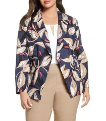 plus size women's nic+zoe budding jacket