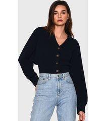 sweater glamorous azul - calce holgado