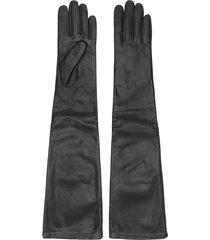 p.a.r.o.s.h. full length gloves - black